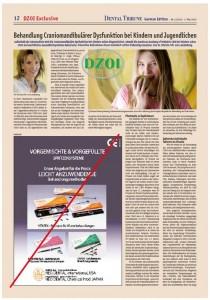 CMD-Artikel von Dr. Patricia von Landenberg im Fachmagazin Dental Tribune
